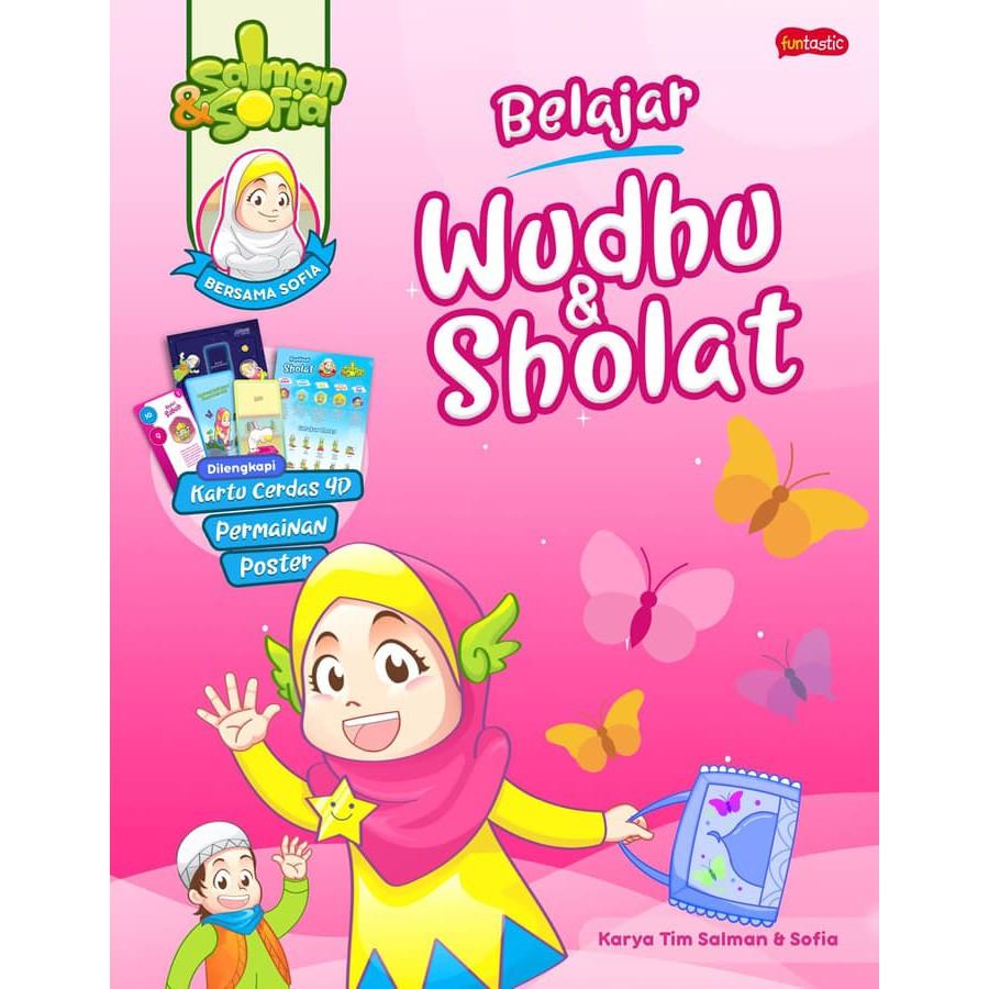 Buku Salman Dan Sofia Belajar Sholat Dan Wudhu Bersama Sofia
