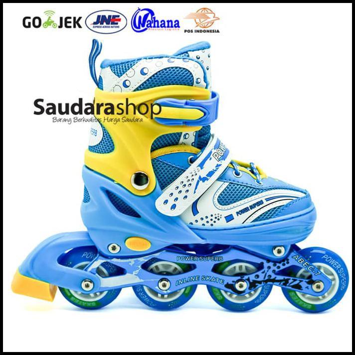 Cool Slide Sepatu Roda Inline Ban Full Karet Biru Sepaturodainline ... 3b1b786cde