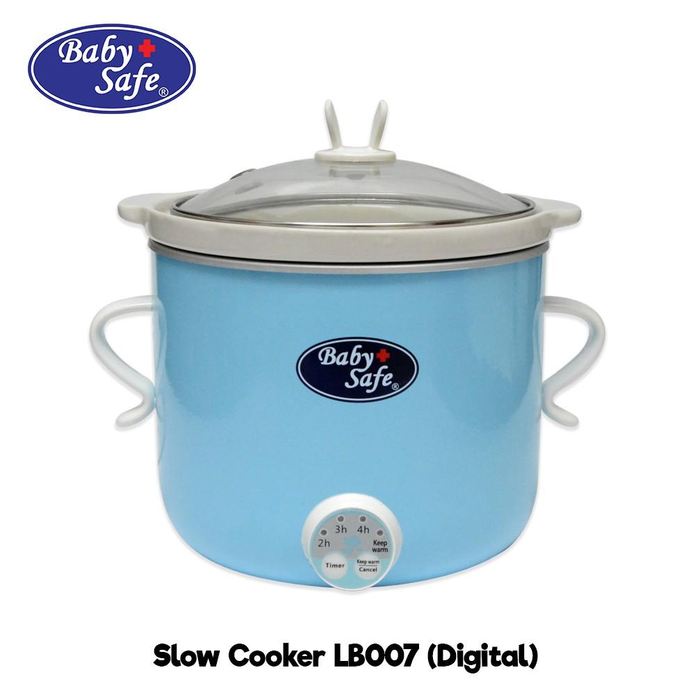 Baby Safe Slow Cooker Digital LB007 Alat Masak MPASI Bayi Rice Cooker
