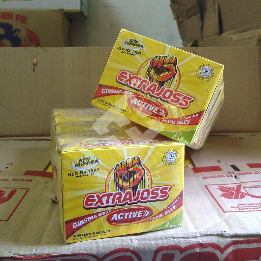 Extra Joss Blend Isi 6 Stick Pack Shopee Indonesia Bintang Toedjoe Panas Dalam Hanger