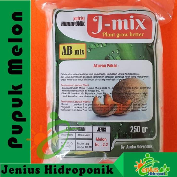 Pupuk Nutrisi Hidroponik ABMix Hidro J Terong / Bunga / Umbi / Timun / Melon 500