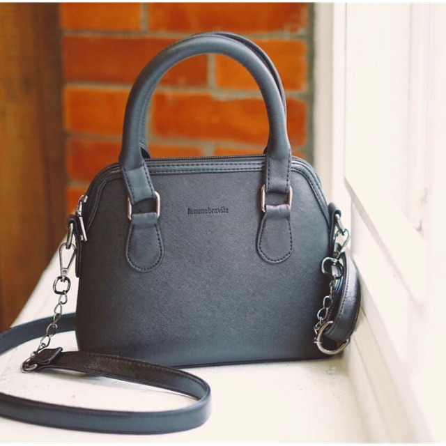 Femo Bag All Black by Femmebravile READY | Shopee Indonesia