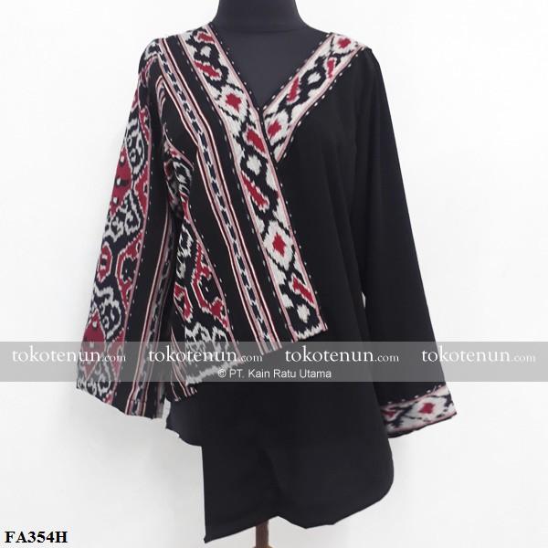Baju Tenun Terbaru Model Asimetris Shopee Indonesia