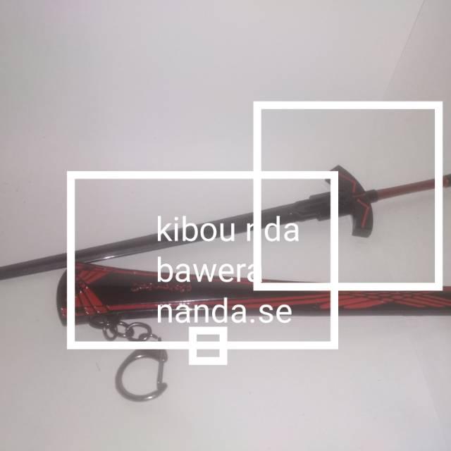 miniatur pedang elucidator kirito