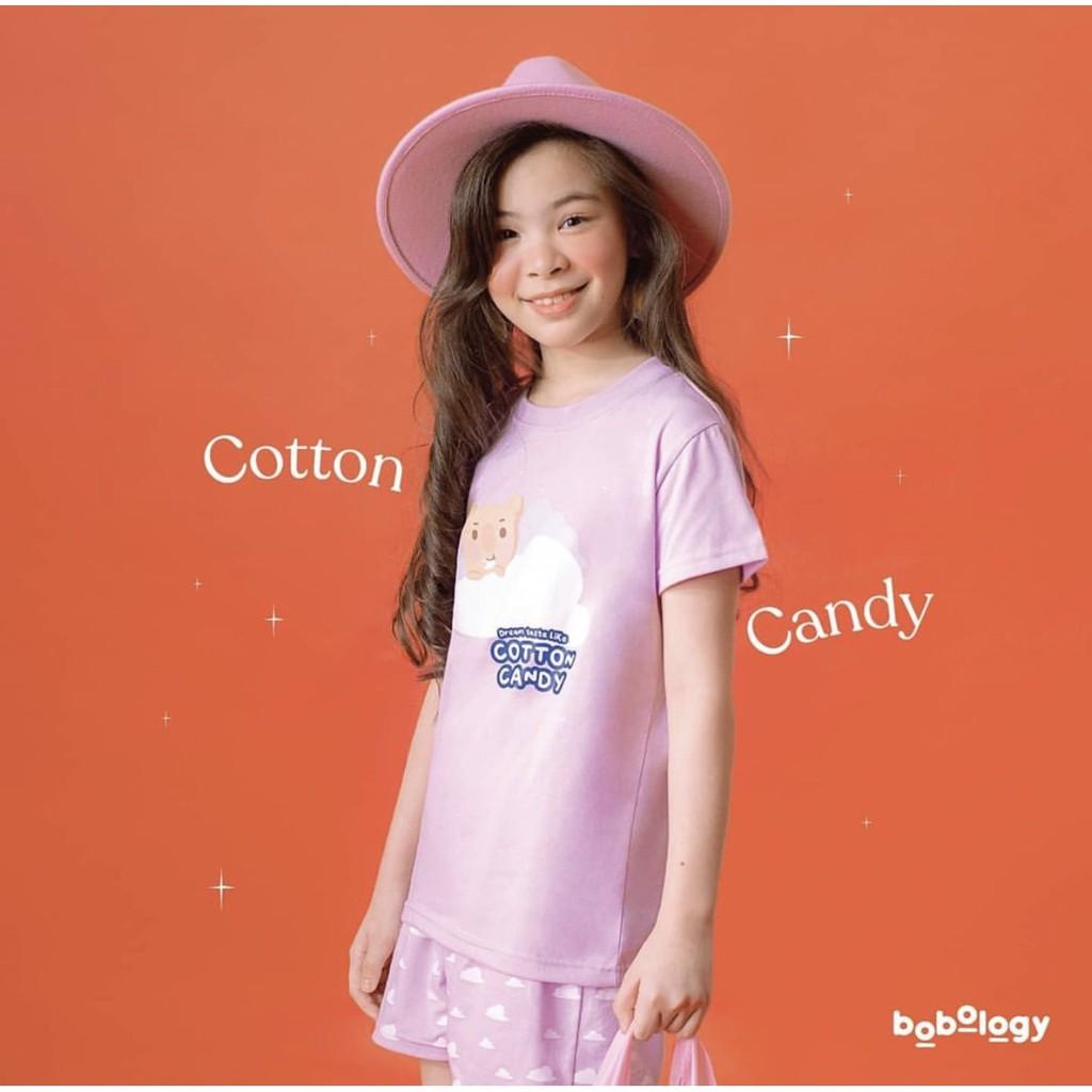 Cotton Candy Pyjamas (Short Pants) – BOBOLOGY (Piyama PJ Baju Tidur Baju Rumah Kaos Anak)