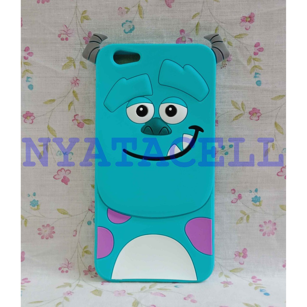 Case 4D Stitch Oppo Neo 7 A33 A33W A33T Softcase Karakter Rubber Silikon Cover 3D Soft
