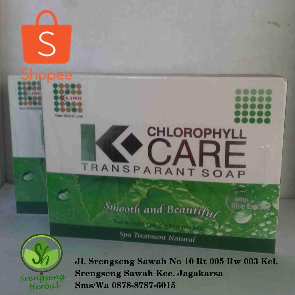 Sabun K Link Chlorofhyll Original Daftar Harga Terlengkap Indonesia Klorofil Liquid Origina Klink Chlorophyll Care Transparant Soap Shopee