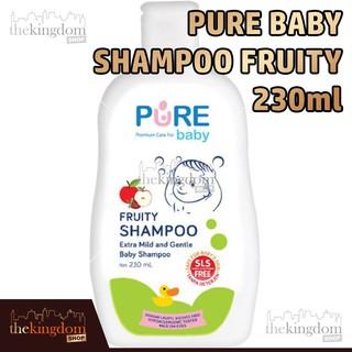 Pure Baby Shampoo Fruity 230ml Sampo Rambut Mandi Anak Bayi Balita