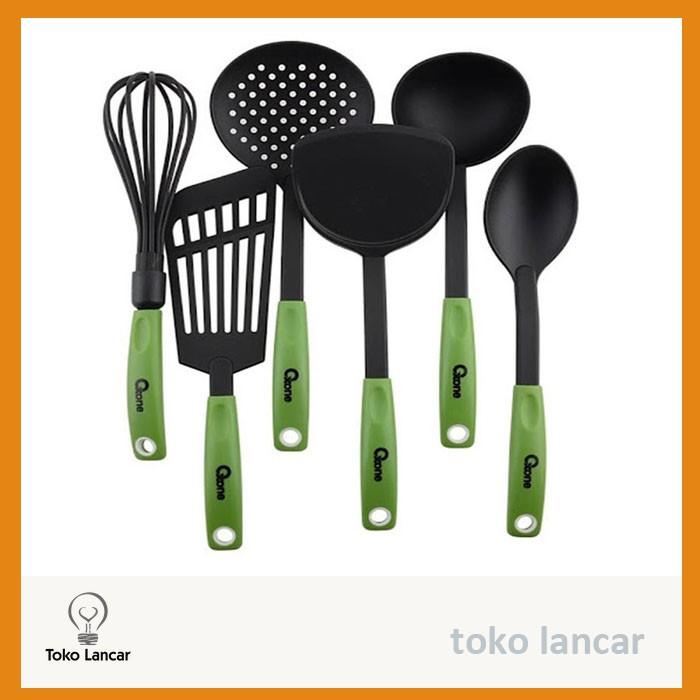 NA OXONE Kitchen Tool Spatula Set OX-953 OX 953 dapur sendok alat masak perabotan rumah tempat makan   Shopee Indonesia