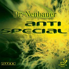 Karet tenismeja Dr Neubauer Anti Special - Hitam, 1.2mm