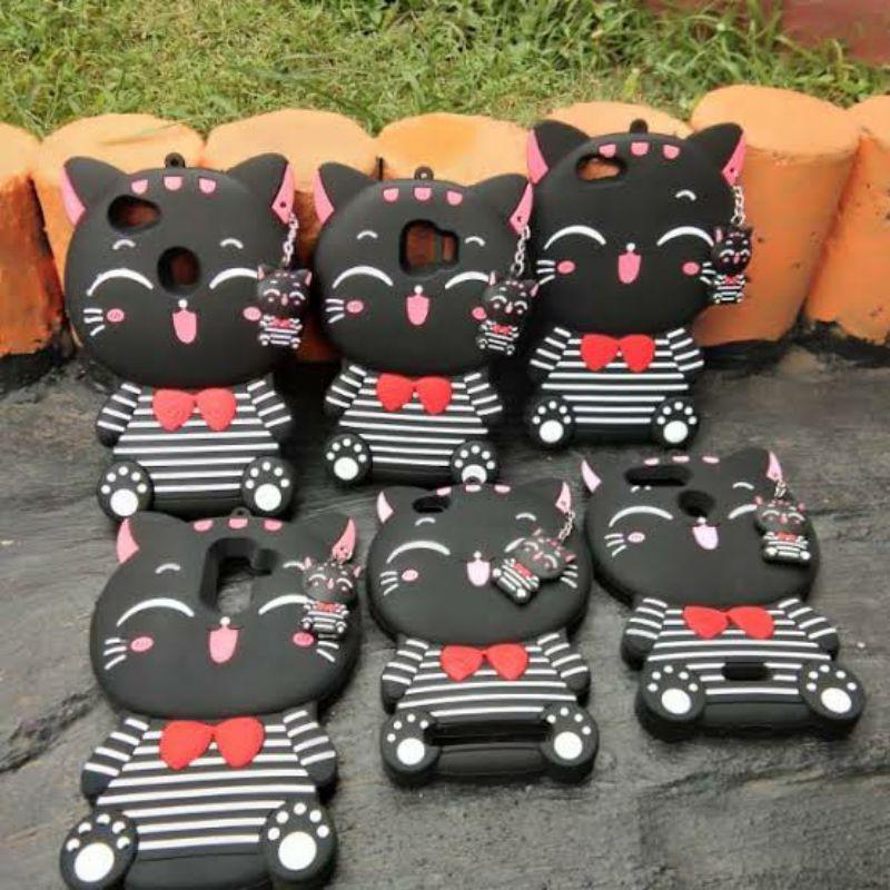 Case Boneka Vivo Y50 Y30 Y30i Mimicat 3D 4D Softcase Carakter