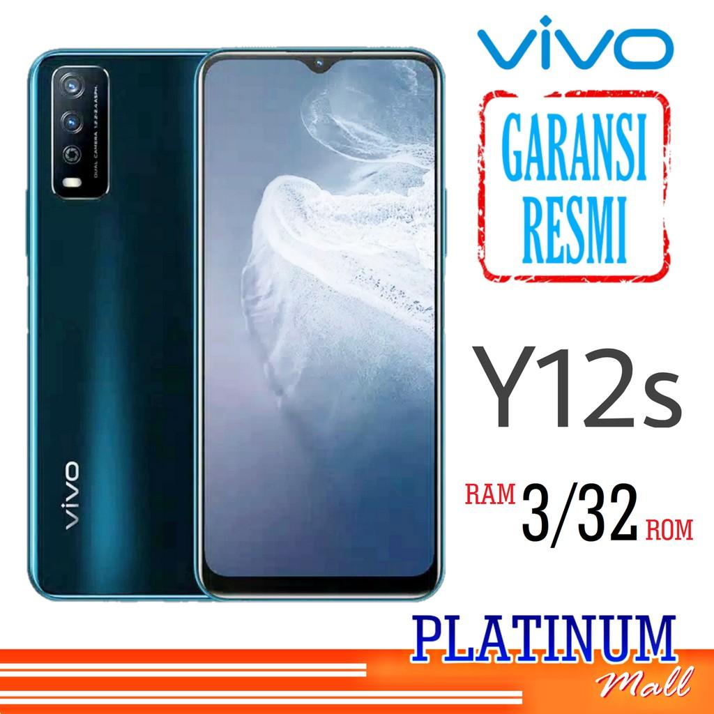 VIVO Y12s 3/32 - GARANSI RESMI - HP VIVO Y12s RAM 3GB - HP ANDROID SMART PHONE 4G