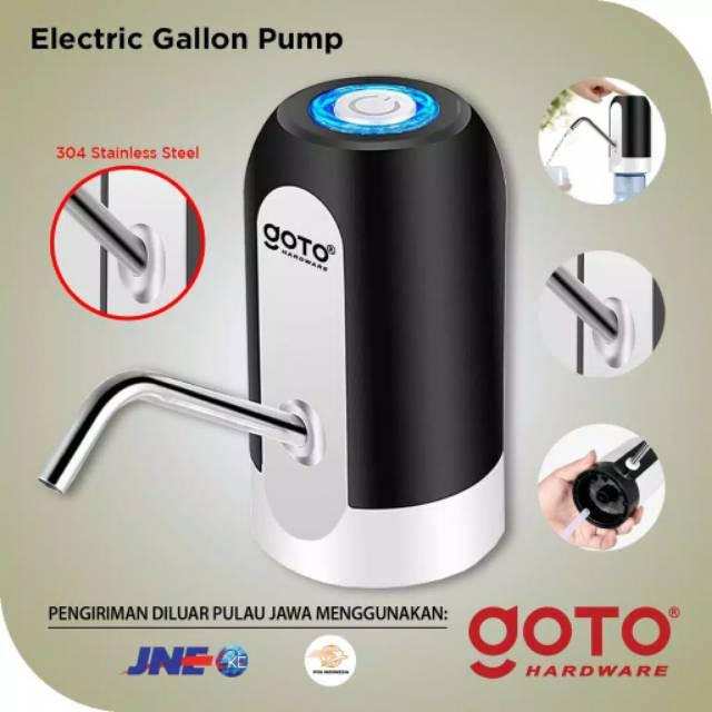Pompa Galon Elektrik Portable Goto Praktis Murah Berkualitas Shopee Indonesia