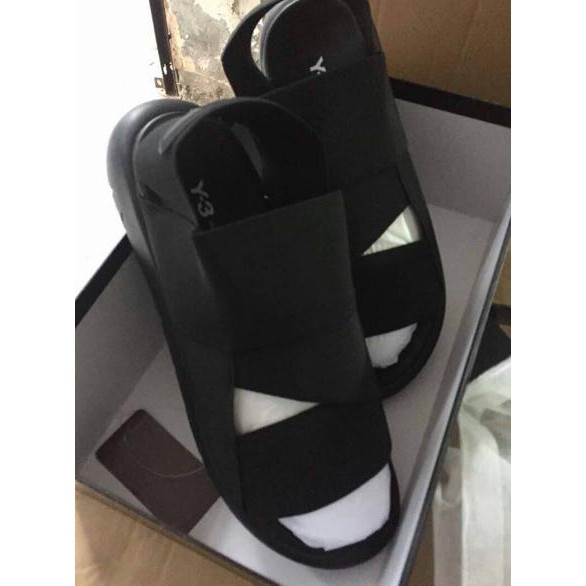 b4bdcd1b043d Adidas Y3 Qasa Sandal Black Pria Premium Murah