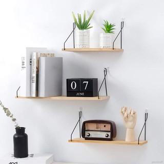 Sederhana Kayu Menggantung Rak Hiasan Dinding Rumah Tangga Menggantung Rak Untuk Ruang Tamu