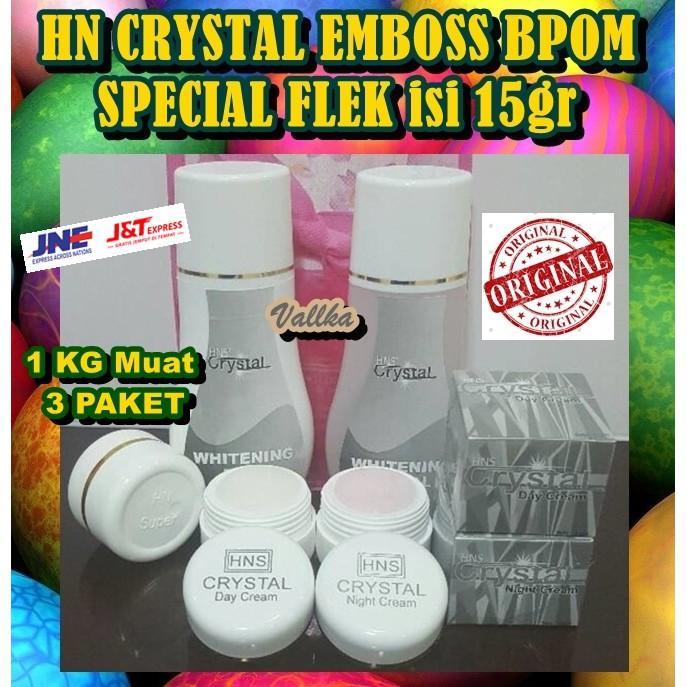 CREAM HN ORIGINAL CRYSTAL EMBOSS ASLI HN KRISTAL 25 GRAM | Shopee Indonesia