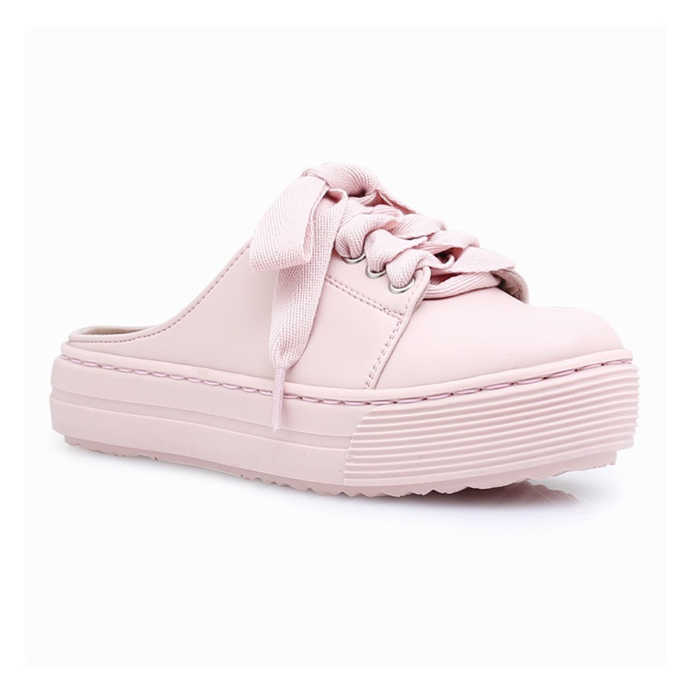 Amazara Evelyn Pink Sneakers Shopee Indonesia White Putih 40
