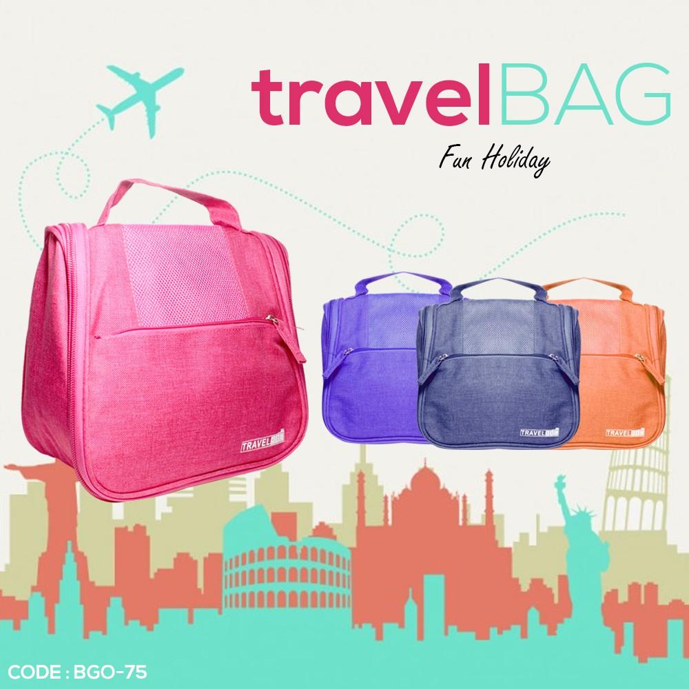 2c9391cec4 Happy Flight - Travel Bag 4 in 1 - Tas Paket 4 in 1 - 5 Warna Pilihan