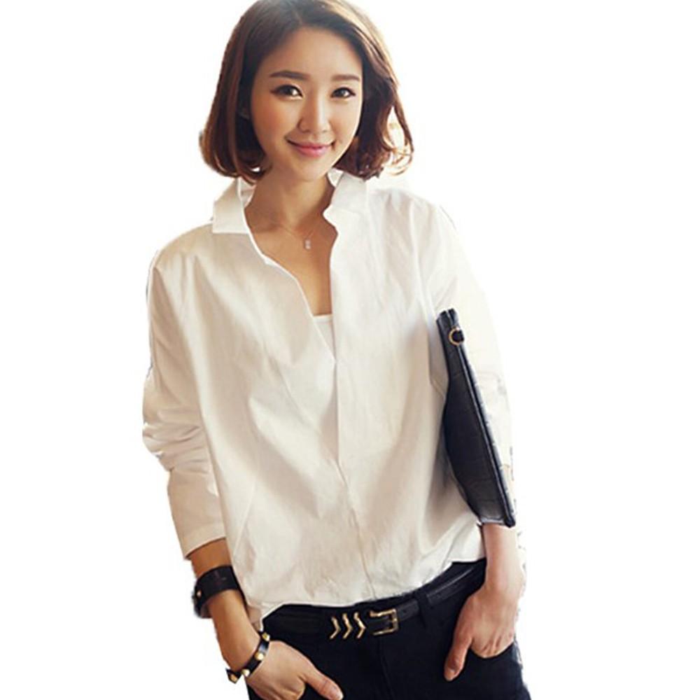 Kaos T Shirt Bahan Katun Lembut Untuk Wanita Shopee Indonesia Ada Fashion Basic Blouse Lengan Panjang Putih Poliester Xl