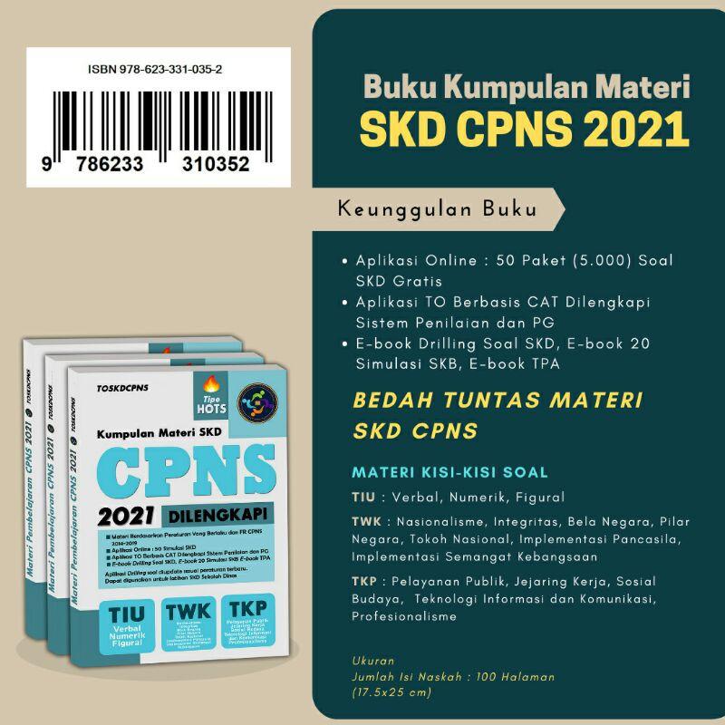 Buku Materi Dan Drilling Soal Fr Skd Cpns Sekolah Dinas 2021 Shopee Indonesia