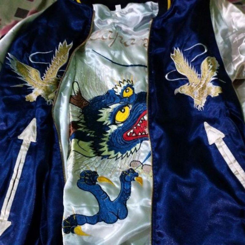 Sukajan Murayama GOLDEN EAGLE X Dragon Head