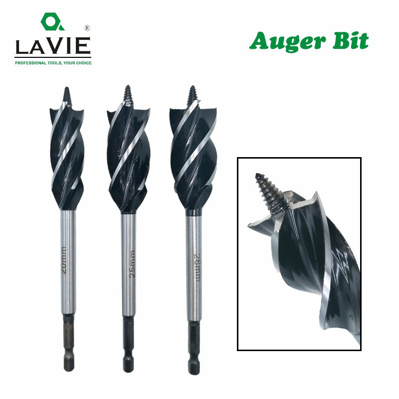 High Carbon Steel Four Flute Cutter Drill Bit 15mm Open Hole for Woodworking
