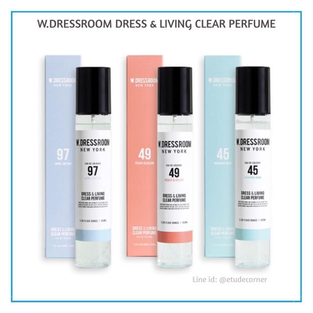 W.DRESSROOM Dress & Living Clear Perfume No.45 (Morning Rain) available size 150 ml & 70 ml | Shopee Indonesia