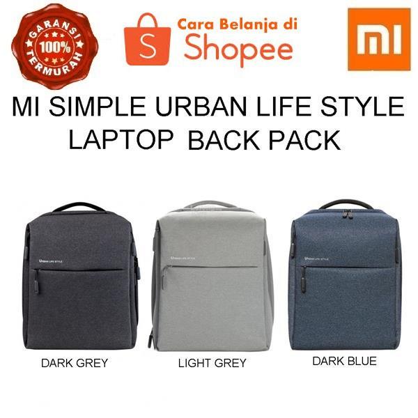 Xiaomi Urban Lifestyle Polyster Leisure Backpack Garansi ...