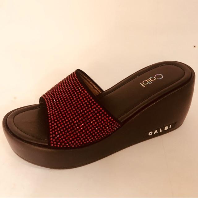 Sandal calbi KLX 1292 hitam  0696330de8