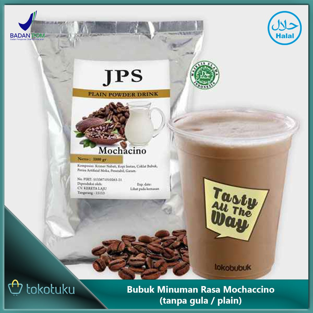 JPS Bubuk Rasa Bubble Gum Plain (Powder minuman dan makanan) 1kg | Shopee Indonesia