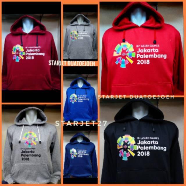 Jaket Hoodie Asian Games 2018