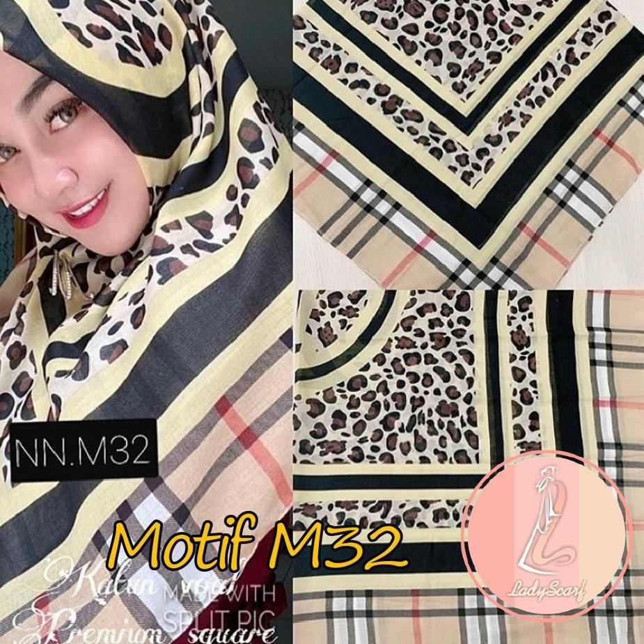 Harga Bersahabat - Jilbab Voal Motif Premium Segi empat , Hijab Square  Printing , Kerudung Premium ,