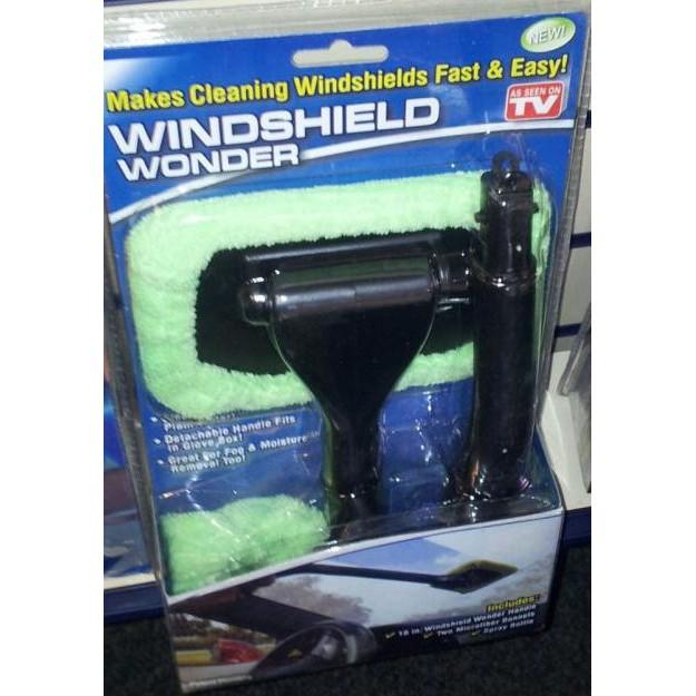 Windshield Wonder - Alat Pembersih Kaca Mobil / Jendela Microfibre   Shopee Indonesia