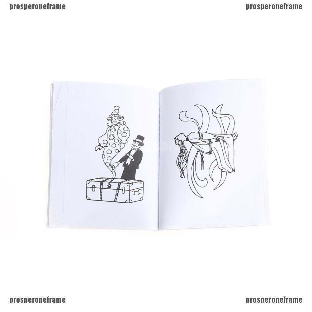 FL Buku Mewarnai Gambar Kartun Untuk Properti Sulap
