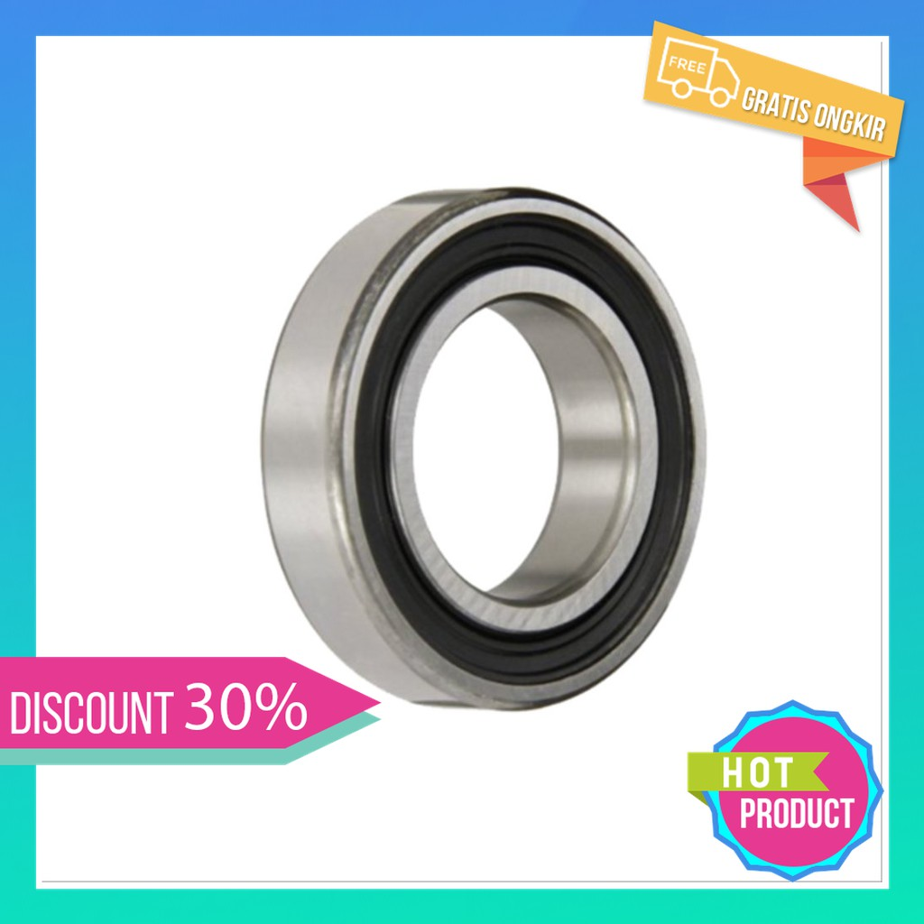 6301-2RS two side rubber seals bearing 6301-rs ball bearings 6301 rs