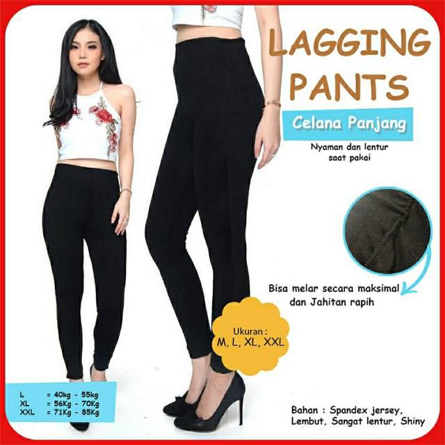 Celana Legging Wanita Panjang Pendek Jumbo Spandex Legging Jersey Wanita Legging Spandex Jersey Shopee Indonesia