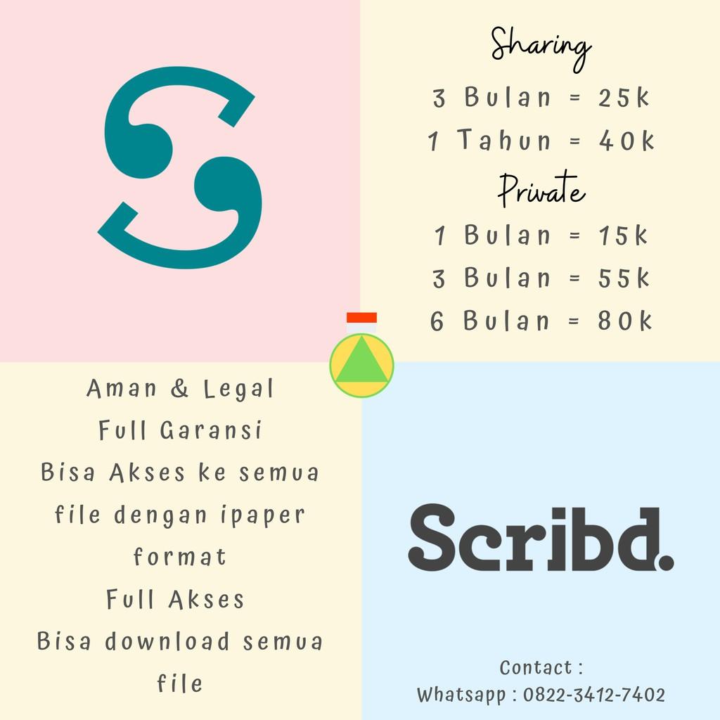 Scribd Full Garansi Shopee Indonesia