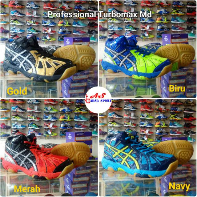 Sepatu Voli Professional Turbomax Md Profesional Volly Volley Volli ... 032e629cbb