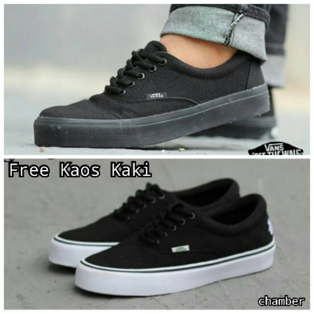 Sepatu VANS Pria OldSkool Murah Santai Gaya Wafle DT IFC Free Kaos Kaki  0a5bbbc1c4