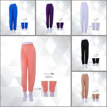 Celamis Celana Dalaman Gamis Aurany Rib Murah Celana Inner Celana Legging Muslimah Shopee Indonesia