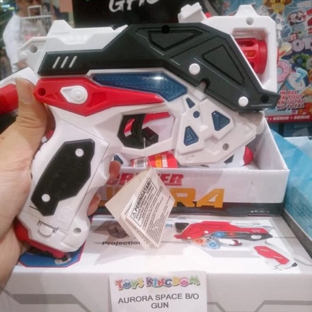 Aurora Space Gun Toys Kingdom Sale 70 Shopee Indonesia