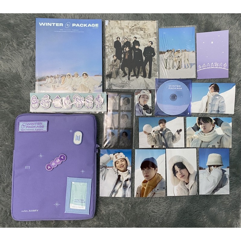 OFFICIAL POUCH + OUTBOX WINTER PACKAGE BTS 2021 [BOOKED]