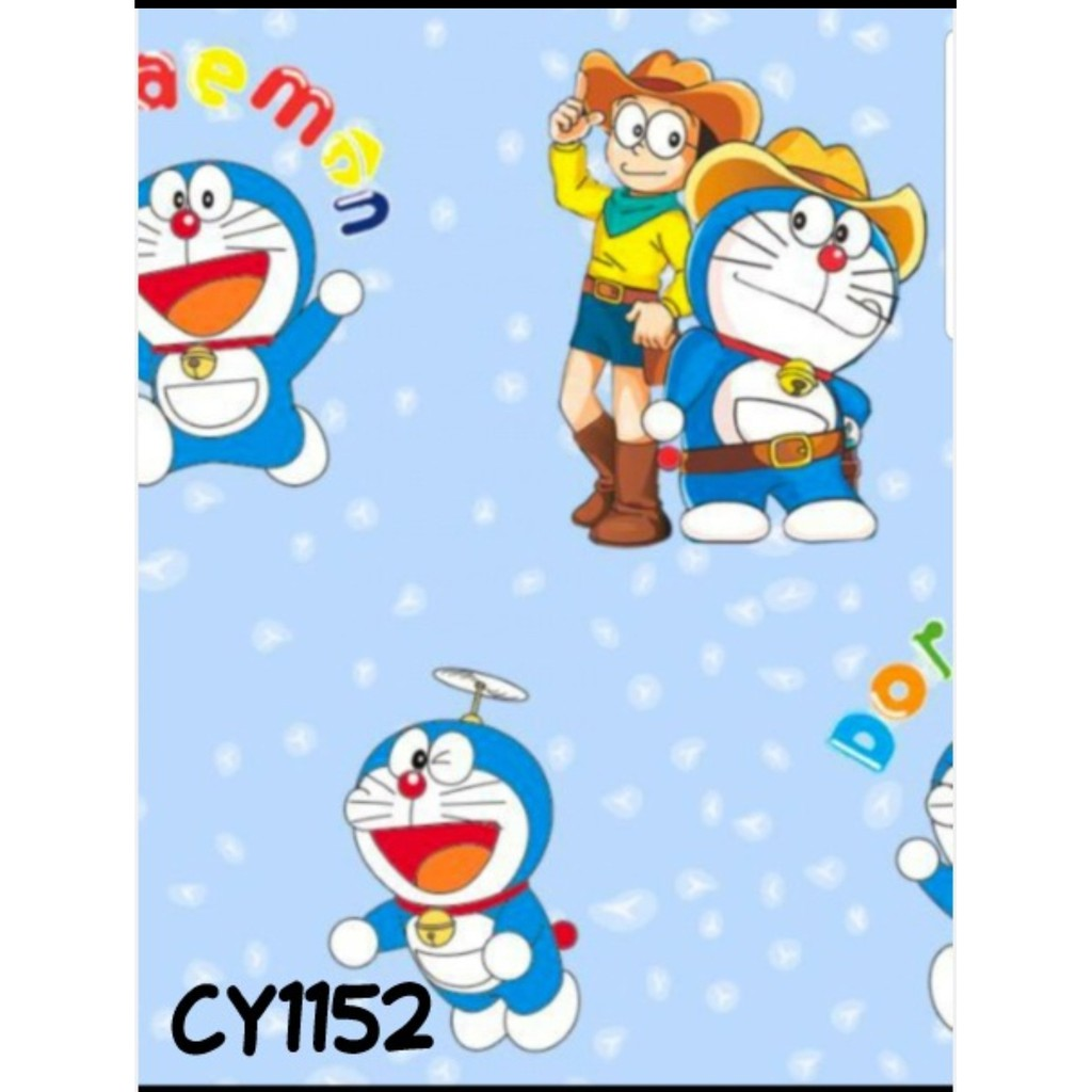 Wallpaper Mtf Doraemon Cy1152 Shopee Indonesia