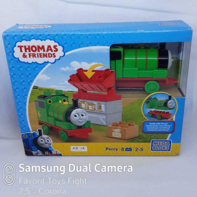 Thomas Friends Bricks Mega Bloks Build With Percy Shopee Indonesia