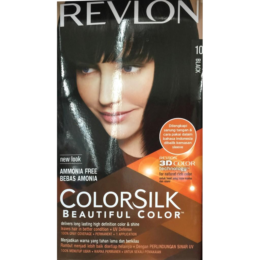 Revlon Colorsilk Hair 41 Medium Brown Cat Rambut Coklat Muda Pewarna | Shopee Indonesia