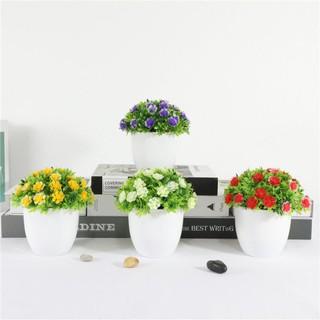 cod/bonsai bulat mini ball tanaman bulat bunga artifisial