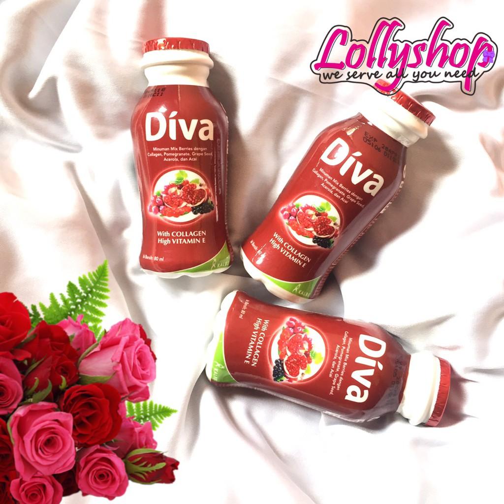 Diva Beauty Drink Minuman Collagen Liquid Mixed Berries 6x80ml Elastin 16x80ml Shopee Indonesia