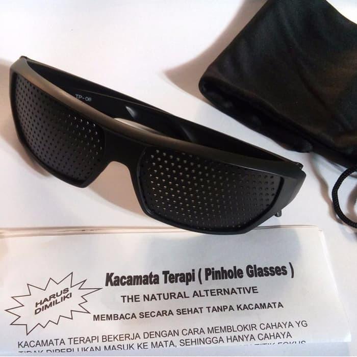 produk terbaru Kacamata Terapi Pinhole Glasses Model Sporty MURAH KEKINIAN   7bc60c4abc