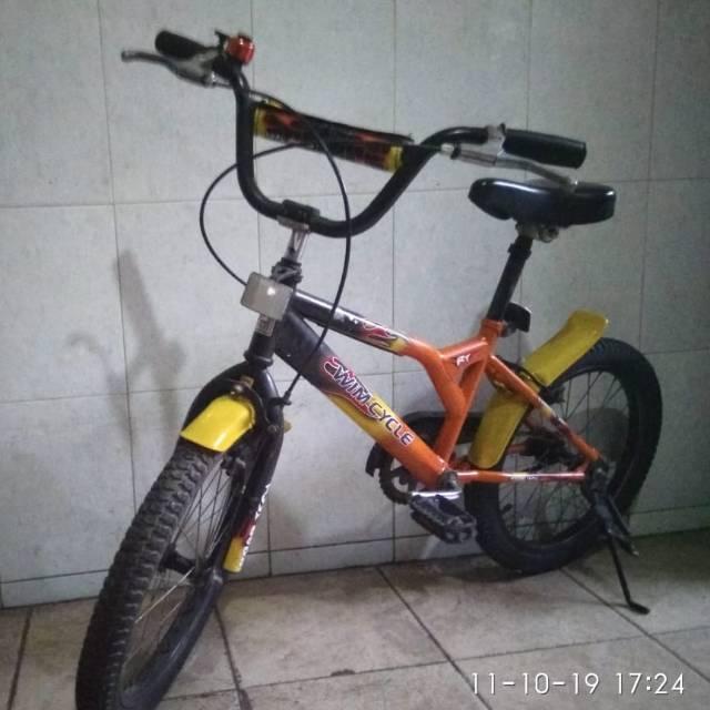 Sepeda Bmx Wimcycle bekas