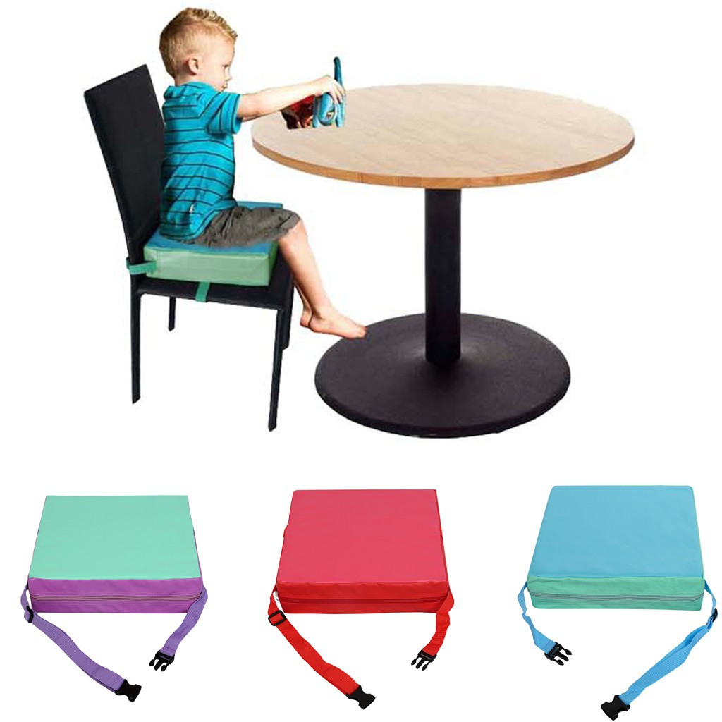 Baby Kids Booster Seat For Dining Portable Thick Increasing Chair Cushion Useful